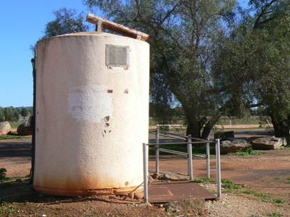 Is it a water tank with a solar panel?