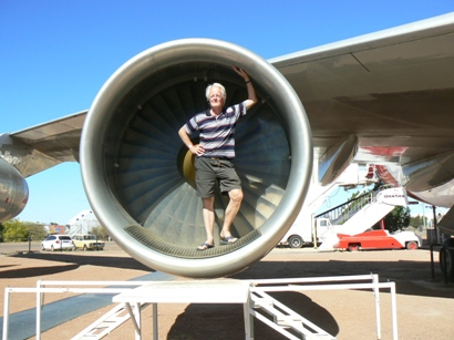 John in 747 engine